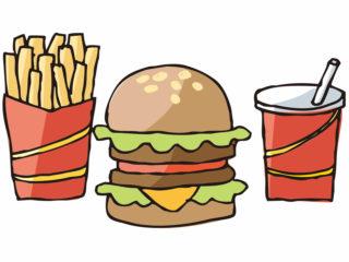 塩分の多い食事を摂ることが多い