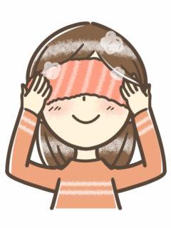 温めた後に冷タオルで冷やすとひきしめ効果も!